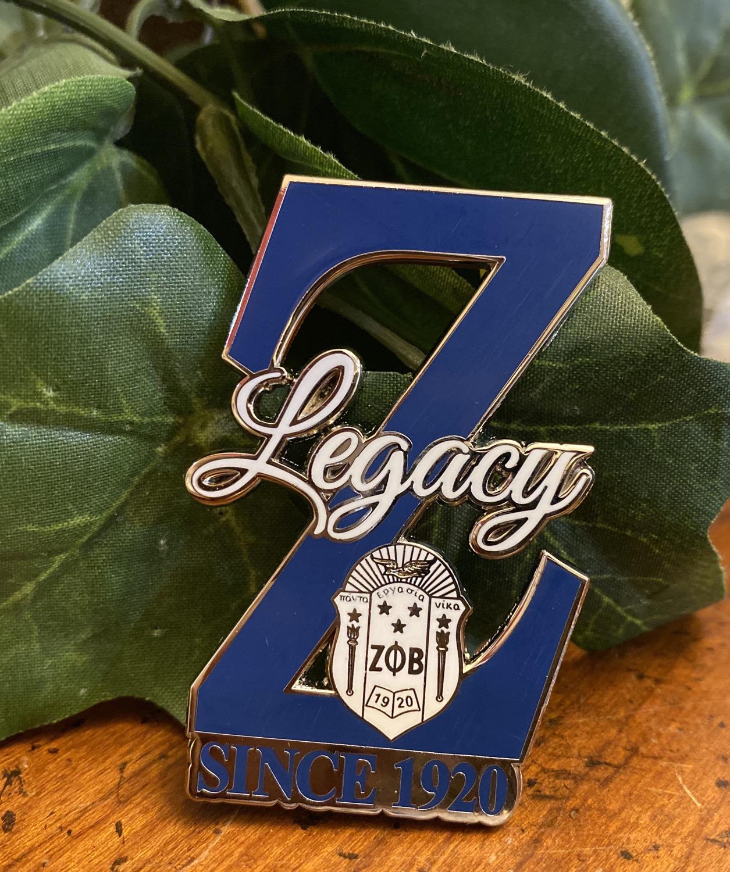 Thumbnail: Zeta Legacy Z Lapel Pin