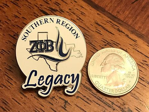 Southern Region Legacy Pin