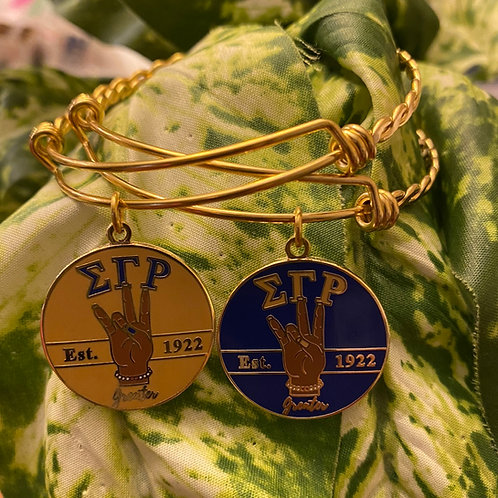 SGRho Greater Charm Bracelet (Toffee)