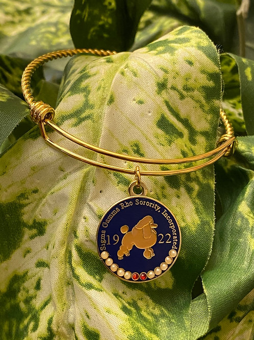 SGRho Poodle Stainless Bangle