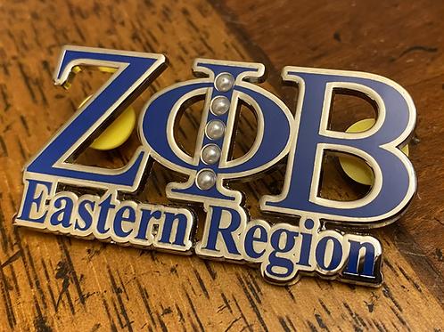 Zeta Eastern Region Signature Pin