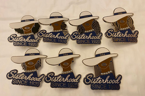 "Zeta ""Toffee"" Sisterhood Pins"