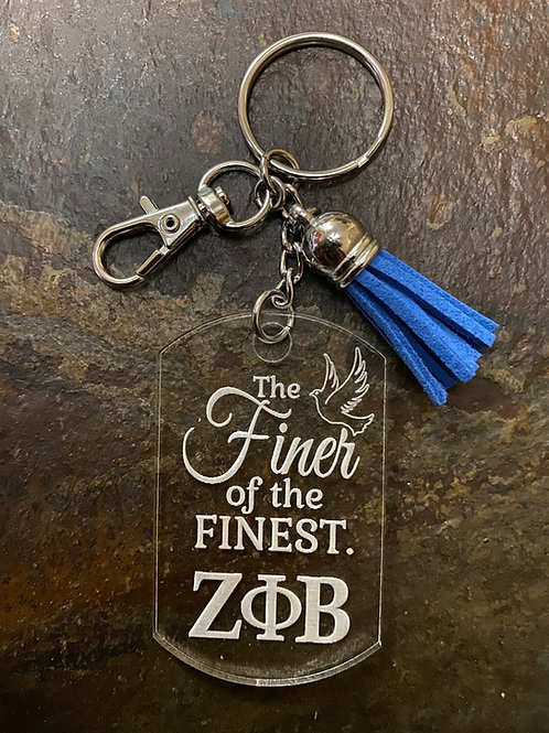 The Finer of the Finest  Acrylic Keychain