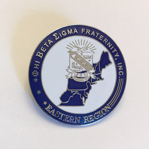 Phi Beta Sigma Eastern Region Pin