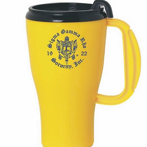 Sigma Gamma Rho Car Cup