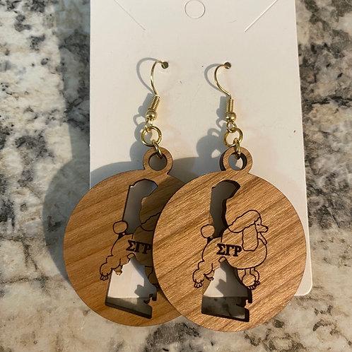 SGRho Delaware Earrings