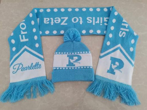 Pearlette Scarf and Hat Set