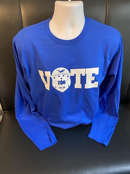 VOTE Zeta Long Sleeved T-Shirt