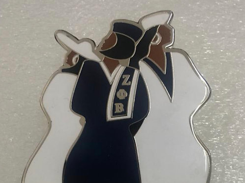 Zeta Sisterhood Pin