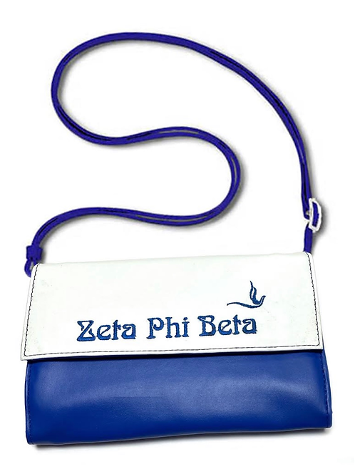 Zeta Phi Beta Clutch/Cross Body