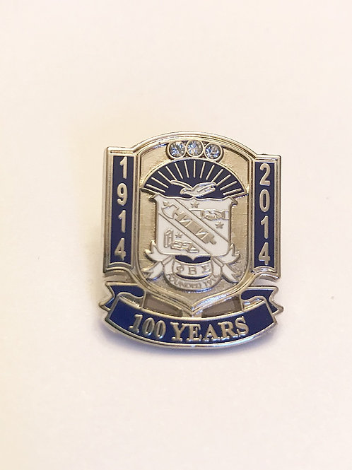 Phi Beta Sigma 100 YEARS Lapel Pin