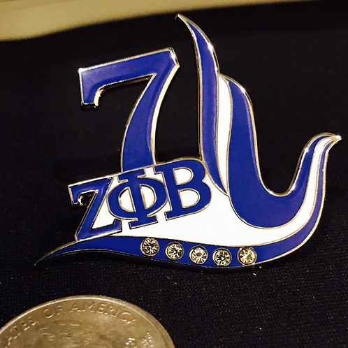 Line No. 7 Lapel Pin
