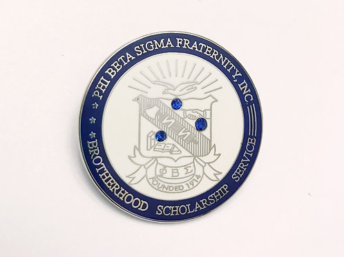 Phi Beta Sigma Lapel Pin