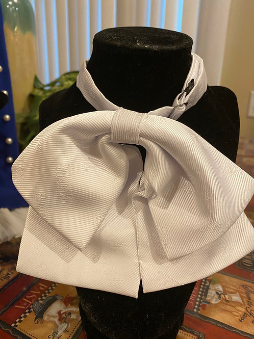 Zeta Phi Beta (All White) Bow tie