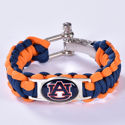 Auburn Corded Bracelet