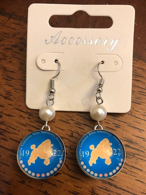 SGRho Snap Earrings