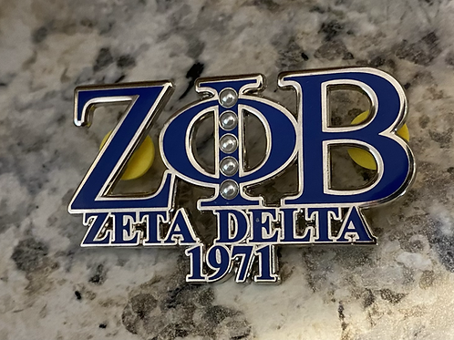 Zeta Delta Lapel Pin