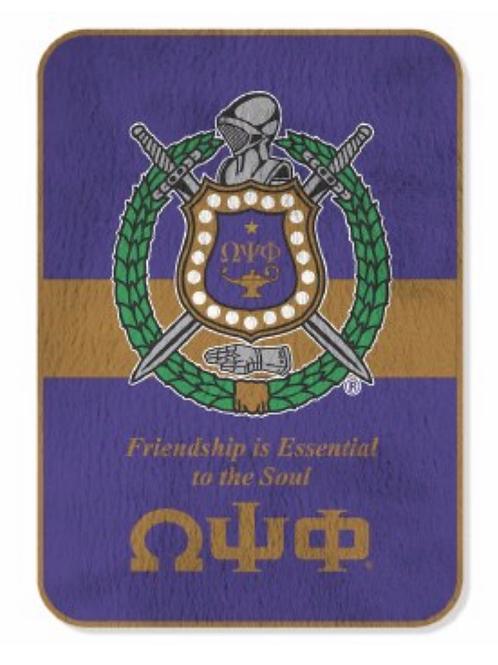 Omega Psi Phi Blanket
