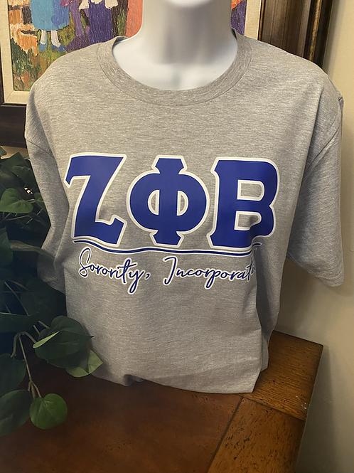 Zeta Phi Beta Sorority #2 T-shirt