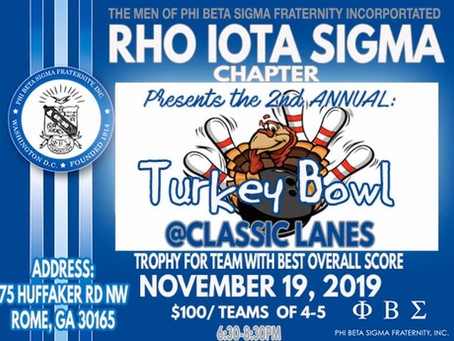 Phi Beta Sigma Turkey Bowl