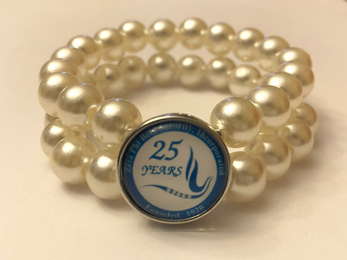 Zeta Anniversary Snap Bracelet