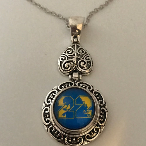 Sigma Gamma Rho Snap Heart Necklace
