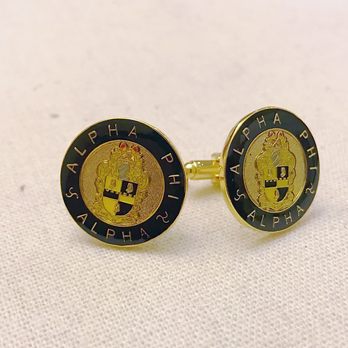Alpha Phi Alpha Shield Cufflinks