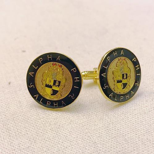 Alpha Phi Alpha Shield Cufflinks