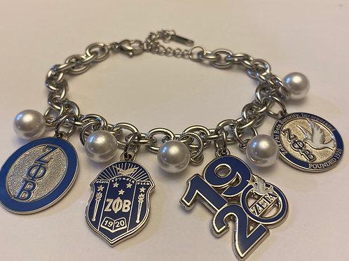 Zeta Build a Bracelet -4 Charms