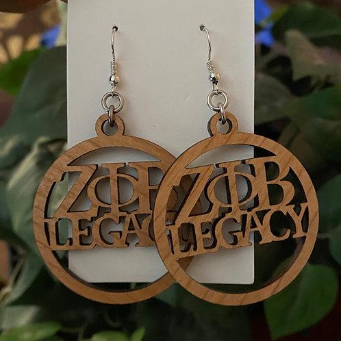 Zeta Legacy Earrings -1.5 inches