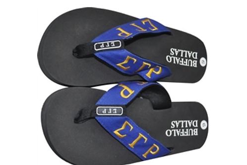 Sigma Gamma Rho Flip Flops (order up a size)