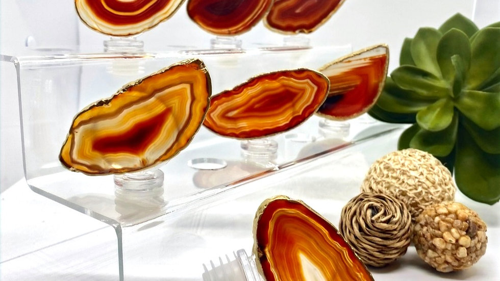 Wine Bottle Stoppers - Amber