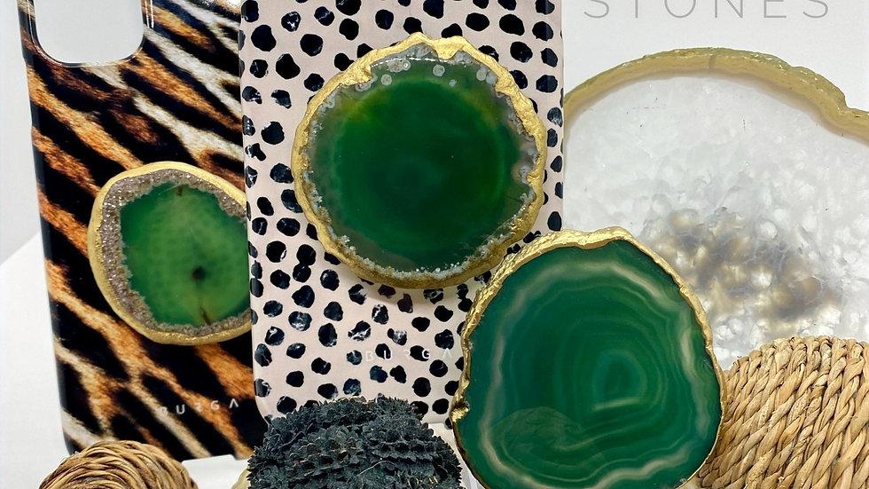Phone Grip Stones - Green