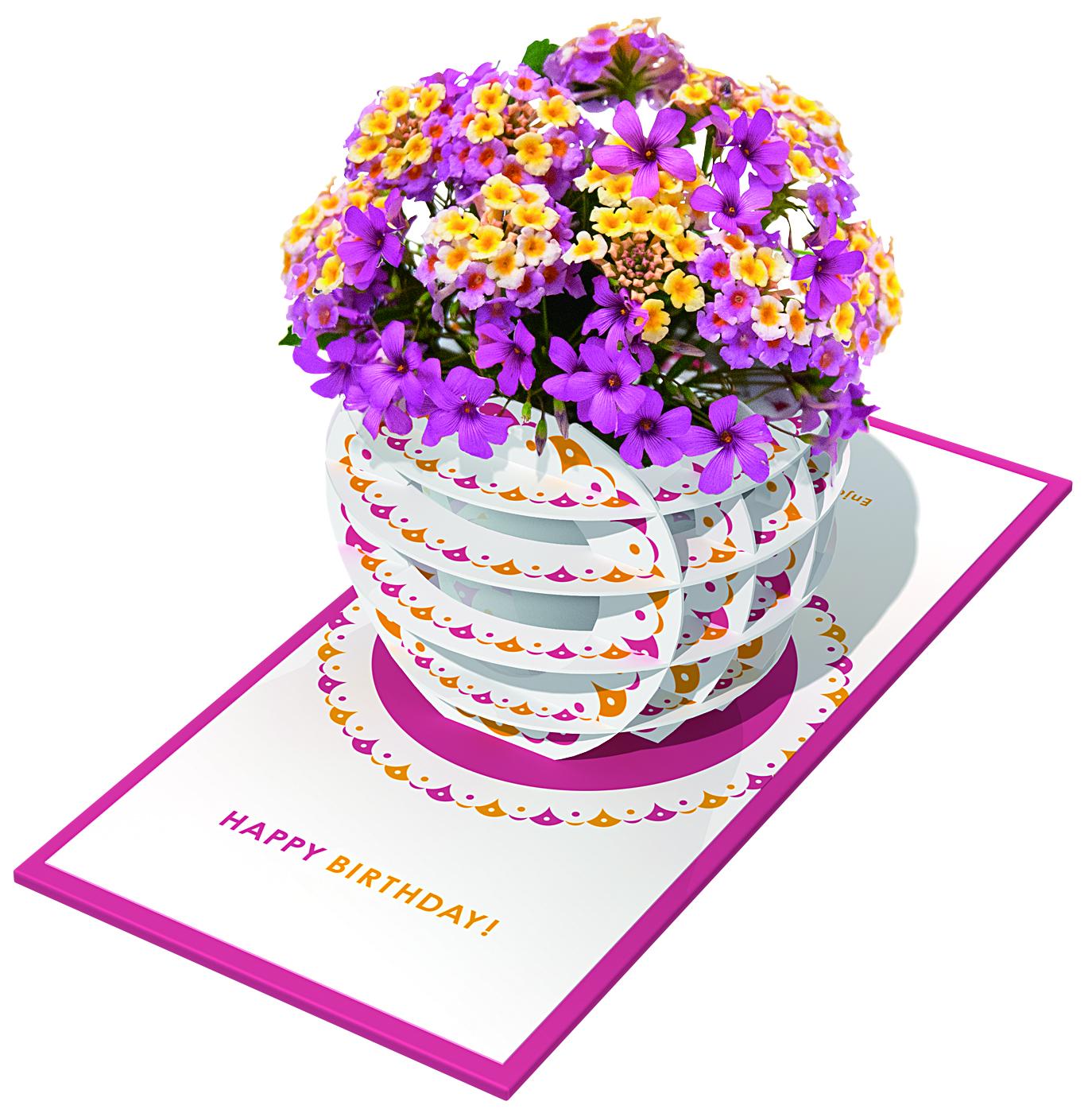 Flower vase book