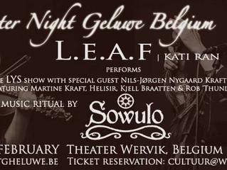 Celtic Winter Night in Belgium