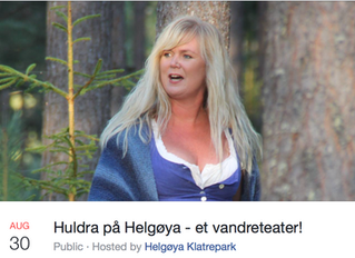 """""""Huldra på Helgøya"""" - sold out!"""