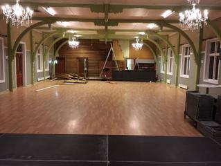 En sal i forandring