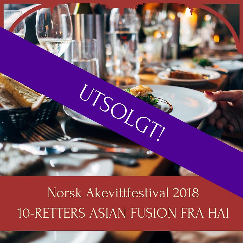 10-retters Asian Fusion / Norsk Akevittfestival