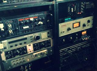 Working in the studio again!