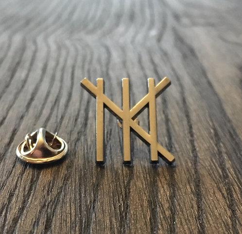 Martine Kraft Logo Pin