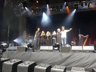 LEAF concert in Belgium