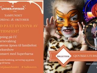 Halloweenfest på Samfundet!