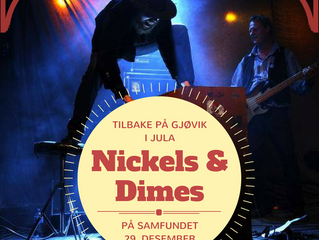 """""""Nickels & Dimes"""" på Samfundet 5.juledag"""