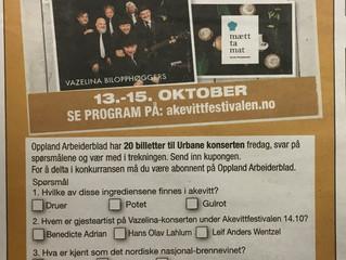 Vinn billetter til Akevittfestivalen