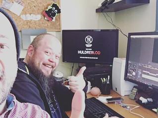 Working with Huldreblod-video