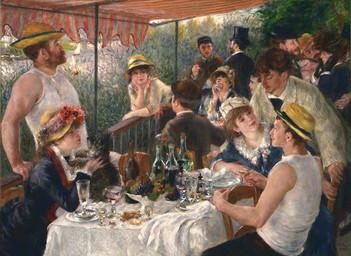 藝術家小故事:雷諾瓦 (Pierre-Auguste Renoir)