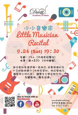 little Musician Recital