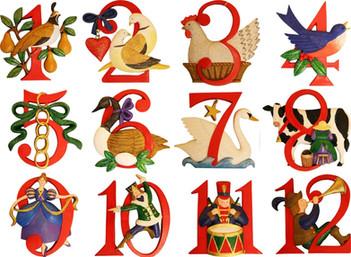 <節日學音樂:聖誕歌介紹: The Twelve Days of Christmas >