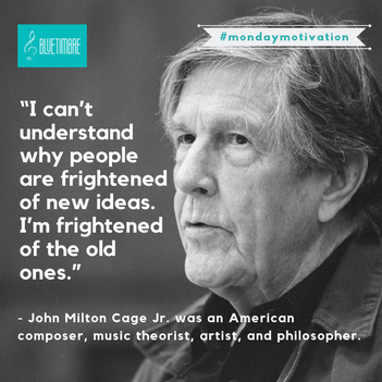 Happy birthday to John Cage!