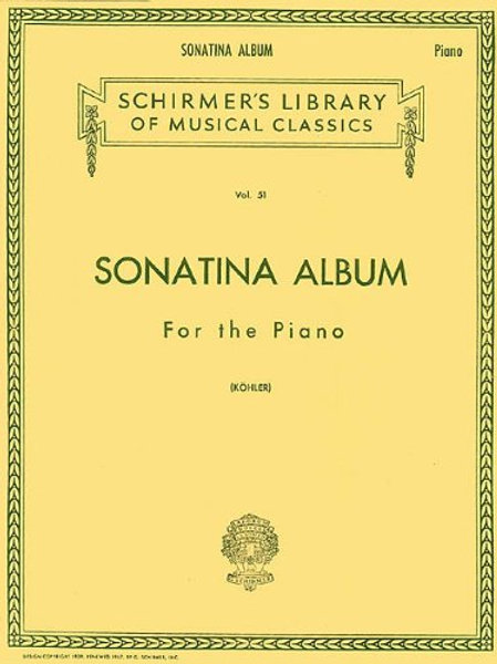 Sonatina Album: Piano Solo (Schirmer's Library of Musical Classics)